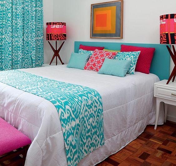 cama colorida