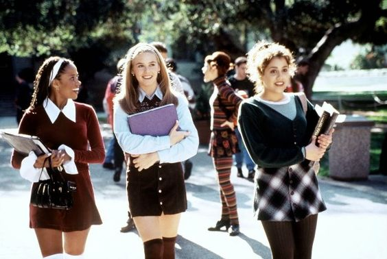 os filmes dos anos 90 e as influencias nos nossos looks do dia